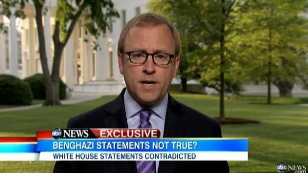 ABC News' Jonathan Karl, delivering his initial report, part of which he now regrets.