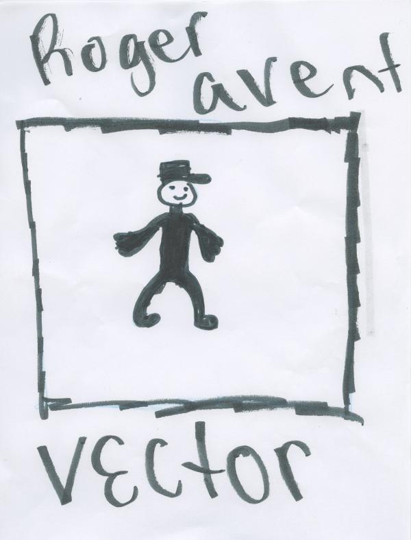 Roger Avent, third grade