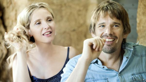 Julie Delpy and Ethan Hawke in <em>Before Midnight</em>.