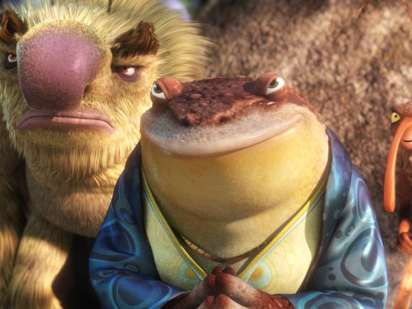 Pitbull voices Bufo the toad in the new film <em>Epic.</em>