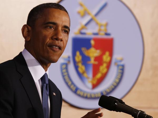 At the National Defense University in Washington on Thursday, President Obama outlined plans to limit the use of U.S. drone strikes, and pledged to shut down the military prison at Guantanamo Bay, Cuba.