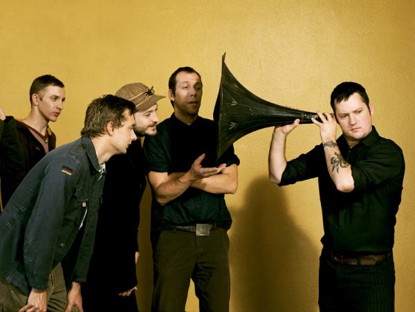 Modest Mouse frontman Isaac Brock uses a massive ear trumpet to <em>really </em>listen.