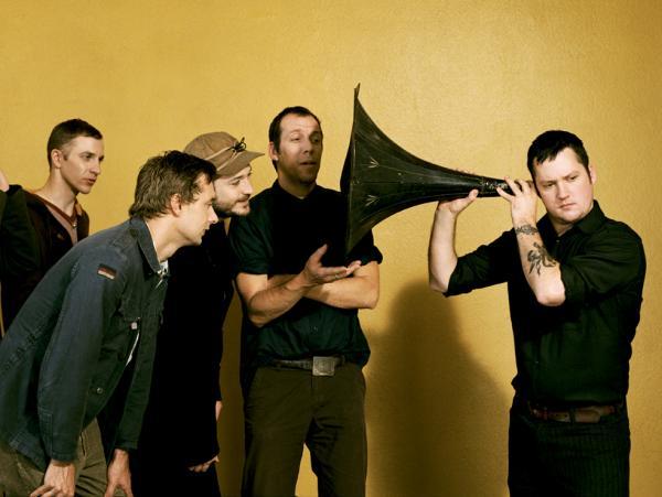 Modest Mouse frontman Isaac Brock uses a massive ear trumpet to <em>really </em>listen.