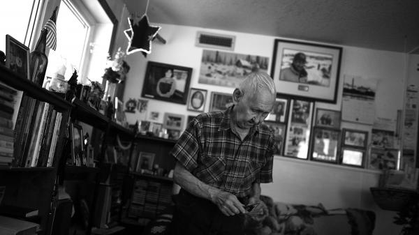 "Howard Lincoln, 82, lives in the village of White Mountain in Alaska. Lincoln served with the U.S. Army in Korea, where he was seriously wounded in combat and received a Purple Heart. He recently suffered two minor strokes and now ""visits"" a doctor over a video link, part of a growing trend in the VA."