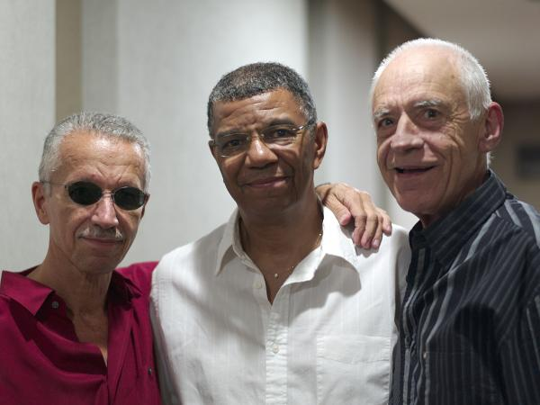 Keith Jarrett, Jack DeJohnette and Gary Peacock's new album of standards is titled <em>Somewhere</em>.