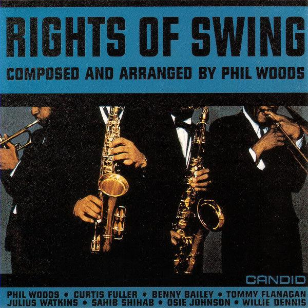 Cover art to Phil Woods' <em>Rights Of Swing</em>, 1961.