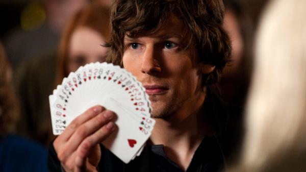 Jesse Eisenberg plays J. Daniel Atlas, part of a team of thieving illusionists, in <em>Now You See Me. </em>