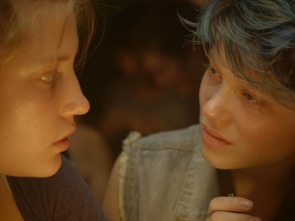 French film <em>Blue Is the Warmest Colour</em>, winner of the Palme d'Or at the 2013 Cannes Film Festival, tells the story of a teenager named Adele (Adele Exarchopoulos) who falls in love with a blue-haired art student named Emma (Lea Seydoux).