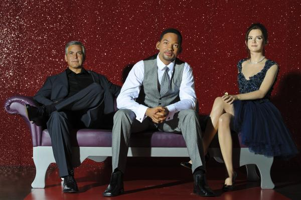 The Will Smith waxwork figure is unveiled at Madame Tussauds on May 22, 2013 in London, where it hangs out with the George Clooney and Emma Watson wax figures, because why not?