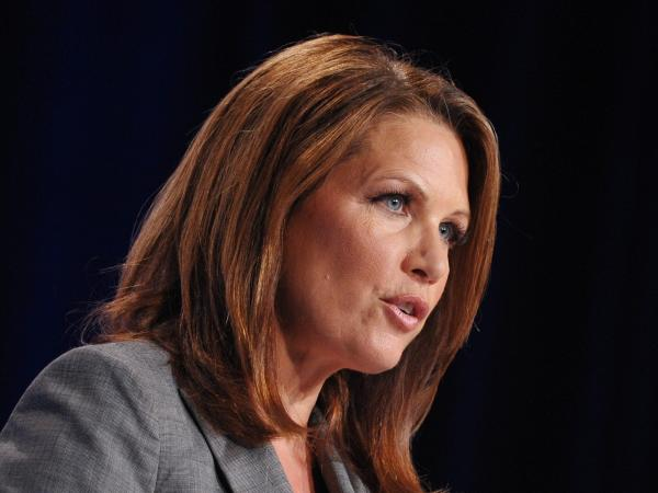 Rep. Michele Bachmann, R-Minn., speaks during the Family Research Council Action Values Voter Summit in Washington.
