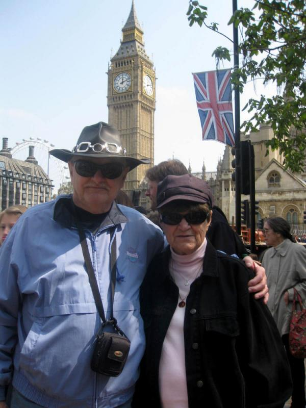 "Harry and Jeanne Lord of New Jersey traveled to London for the wedding. Their kids think they're ""insane"" for coming, they say."
