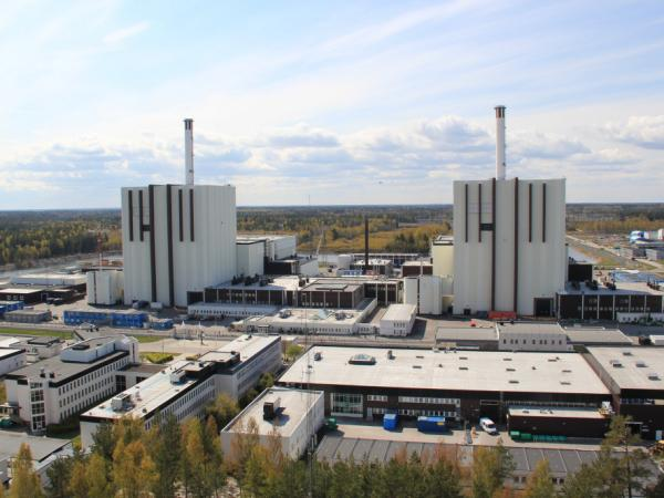 Two of three reactors at the Forsmark nuclear power plant in Sweden. The country lacks oil reserves and gets about half its electricity from three commercial nuclear plants.