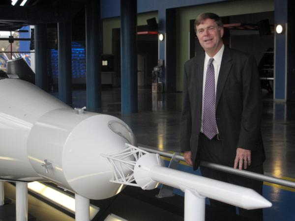 "Huntsville Mayor Tommy Battle says the city is ""the only place in the world that still has expertise about going into deep space."""