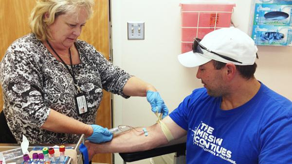 Carl Schuler is one of 10,000 vets to have donated blood samples to the Million Veteran Program.