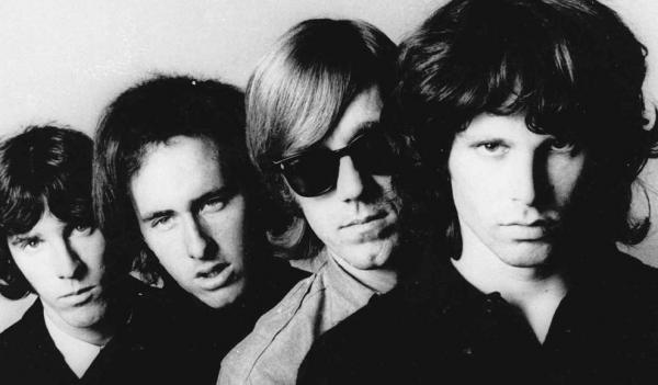 The Doors, photographed in 1966.