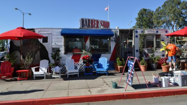 "The barber shop run by Anthony Bravo Esparza — whom everyone knows as ""Dreamer"" — is a fixture at the VA Greater Los Angeles Healthcare System's West Los Angeles Campus."