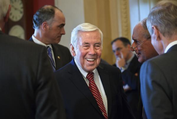 Sen. Richard Lugar, R-Ind.