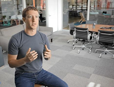Facebook founder Mark Zuckerberg speaks in a video that is part of the company's prospectus for investors. By remaining a privately held company, Facebook has helped boost the popularity of secondary stock markets.