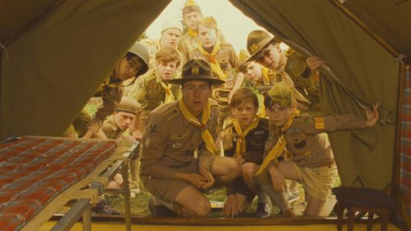 Edward Norton plays a scoutmaster in search of his lost charge in Wes Anderson's latest film, <em>Moonrise Kingdom.</em>