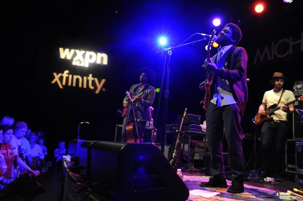 Michael Kiwanuka performs at World Cafe Live in Philadelphia, Penn. His latest album is <em>Home Again</em>.