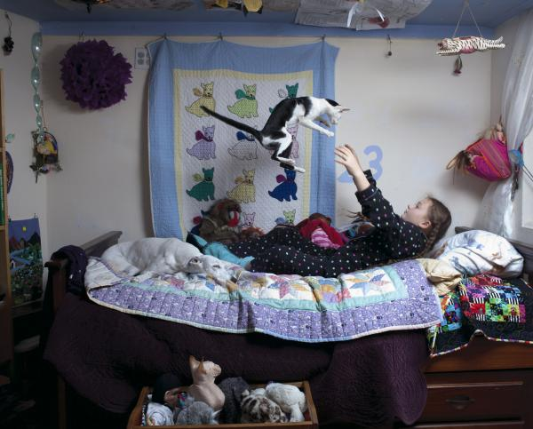 Photos from the ongoing series, <em>Amelia's World</em>