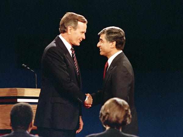 The 1988 presidential race between George H.W. Bush and Michael Dukakis is often considered one of the most negative elections in the modern era.