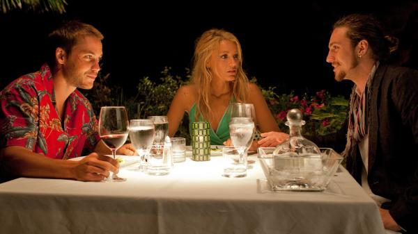 In <em>Savages, </em>the love triangle among Chon (Taylor Kitsch), O (Blake Lively) and Ben (Aaron Johnson) is disrupted when O is kidnapped by a Mexican cartel.