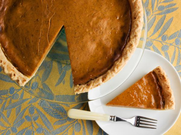 Pumpkin pie to the rescue?