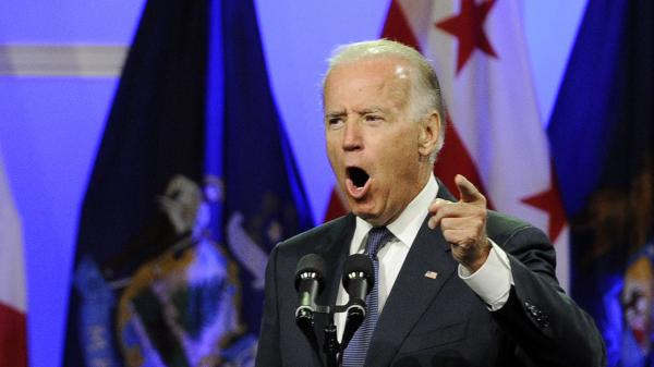Vice President Biden addresses the NAACP annual convention Thursday in Houston.