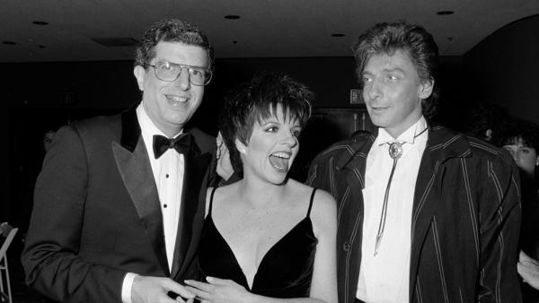 Marvin Hamlisch (left) with Liza Minnelli and Barry Manilow in 1987.