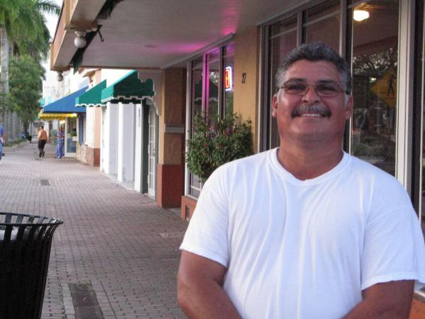 "Homestead restaurant owner Cesar Berrones says the city's character has changed. Before Andrew, it was more like a small town, and now, ""it's all new people,"" he says. ""It's good for business, it's grown, but the old friends have gone. It's different."""