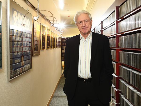 Naxos founder Klaus Heymann.