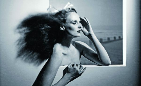 "Grace Coddington, shown above in 1974, is now the creative director at <em>Vogue</em>, but she started her career as a model. ""In those days, models had to know how to do everything themselves,"" she says."