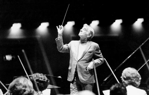 <strong>Does This </strong><strong>Guy Matter? </strong>Conductor Leonard Bernstein during rehearsal with the Cincinnati Symphony at Carnegie Hall in 1977.