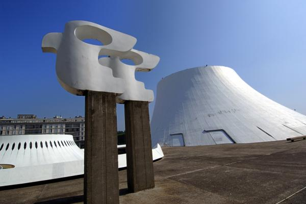 """The Volcano"" at Le Havre Cultural Center, France, built in 1982."