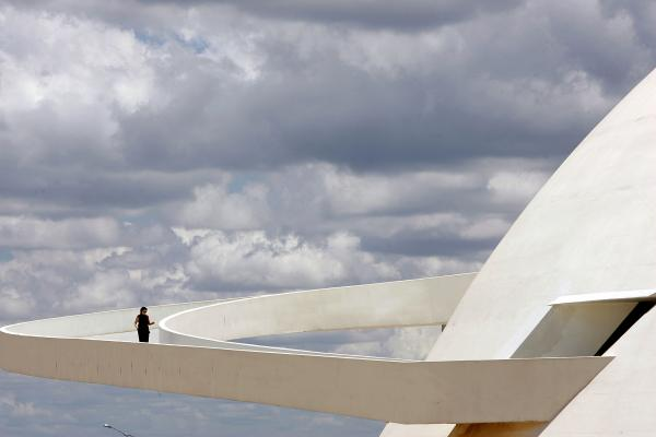 Brasilia's National Museum, inaugurated in 1960.