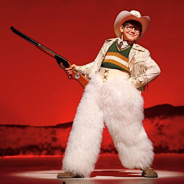 In <em>A Christmas Stor</em>y, Johnny Rabe plays Ralphie Parker, a boy who wants only one thing for Christmas: an official Red Ryder Carbine-Action 200-shot Range Model Air Rifle.