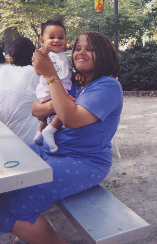 Bonnie Brown with her daughter, Myra, in 1998.