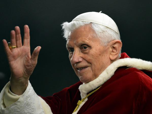 Pope Benedict XVI last December at the Vatican.
