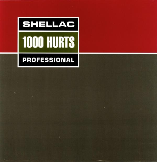 <strong>Shellac, <em>1000 Hurts</em></strong><br />This cover, made to look like an Ampex tape reel box, is something of an in-joke for fans of the band: guitarist Steve Albini runs the Electrical Audio recording studio in Chicago, notable for its analog-only recording practices.