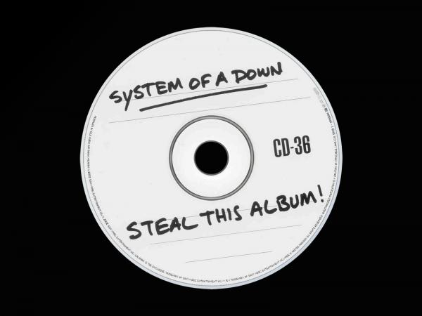 <strong>System of a Down, <em>Steal This Album!</em></strong><br />Released in 2002 after unfinished versions of the songs on the album were leaked. Once it finally made it into stores, the CD, meant to look burned-at-home, was packaged in a clear jewel case with no booklet.