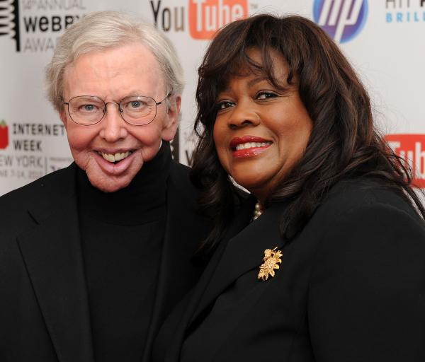 Film critc Roger Ebert and wife Chaz Ebert attend the 14th Annual Webby Awards at Cipriani, Wall Street on June 14, 2010 in New York City.