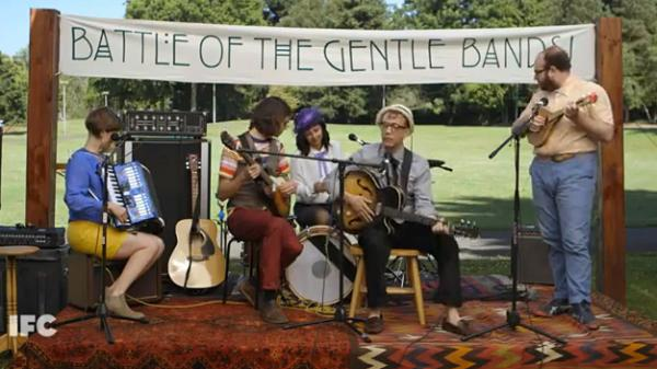 "The show <em>Portlandia</em> recently featured a skit titled ""The Battle Of The Gentle Bands."" Portland will host the Quiet Music Festival this weekend."