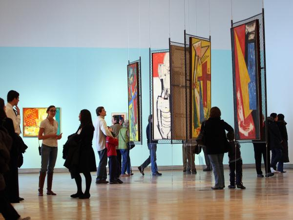 Brandeis University considered selling off the collection of its  Rose Art Museum in 2009 but later decided against the move.