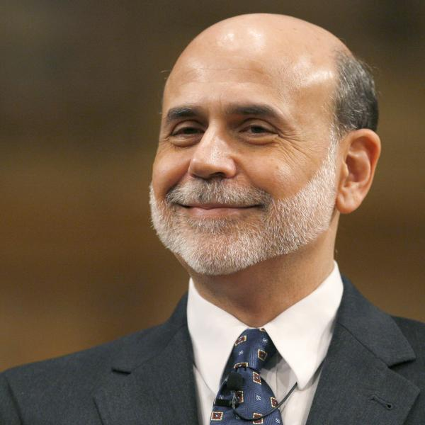Federal Reserve Chairman Ben Bernanke. (2010 file photo.)