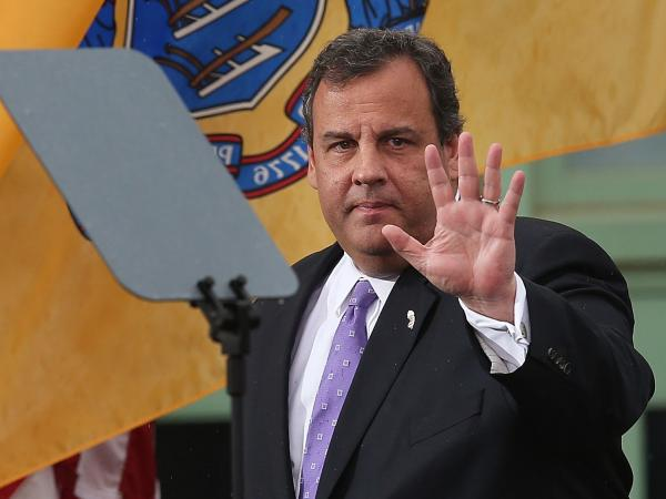 New Jersey Gov. Chris Christie (R).