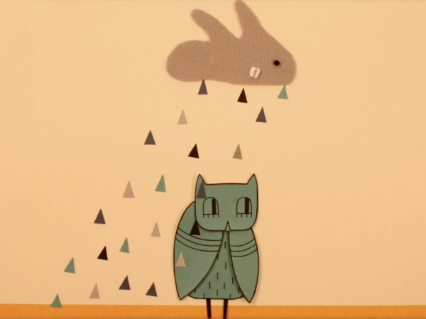 A tiny owl tries to find its way in the world, in a new animated video from singer-songwriter Grant Olney.