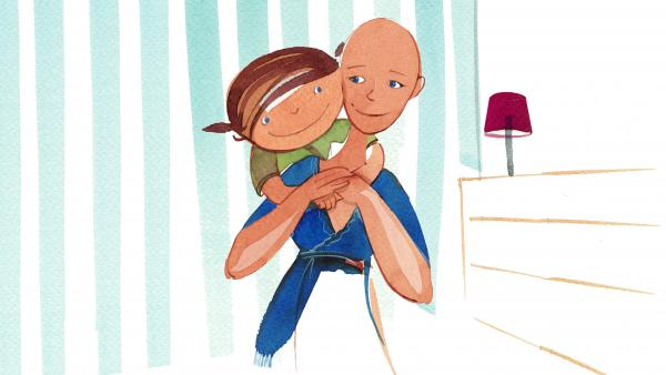 """Sue Glader wrote <em><a href=""""http://www.npr.org/books/titles/188994750/nowhere-hair"""">Nowhere Hair</a> </em>after finding that many children's books about cancer were too depressing or scary."""