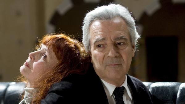 Sabine Azema (left) and Pierre Arditi are two of the veteran actors drawn into a convoluted retelling — and reimagining — of the Orpheus and Eurydice story in Alain Resnais' <em>You Ain't Seen Nothin' Yet</em>.