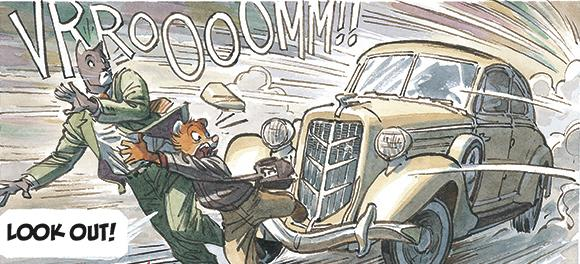 Cat detective John Blacksad investigates the disappearance of a famous pianist in <em>Blacksad: A Silent Hell.</em>